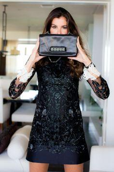Christina Pitanguy (Rio de Janeiro, BRA), vistiendo Valentino (look total). Foto: Denise Leão.
