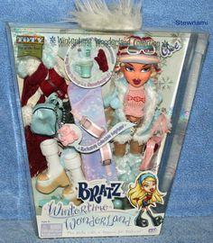 2003 Bratz CLOE Wintertime Wonderland Collection Doll
