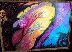 LEAF (water Colour) 60-50 -2014  By E.Alves