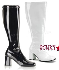 Wide Width and Calf GoGo Boots