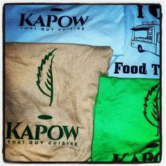 shirts for Sale for $25  www.KapowTruck.com