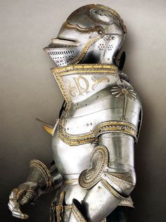 KD garniture of Charles V, by Kolman Helmschmid - Augsburg, 1525.
