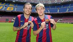One Direction at Camp Nou