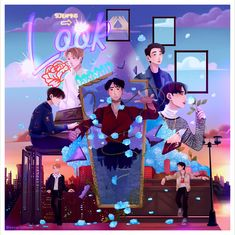Got7 Fanart, Kpop Fanart, Girls Girls Girls, Youngjae, Got7 Mark Tuan, Bts, I Got 7, Mamamoo, Photo Illustration