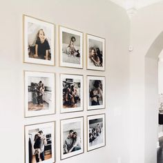 Adorable 40 Fantastic Dining Room Gallery Wall Design Ideas That Looks So Awesome Gallery Wall Frames, Frames On Wall, Family Pictures On Wall, Bedroom Wall Pictures, Photos On Wall, Display Family Photos, Framed Pictures, Family Wall Decor, Family Wall Collage