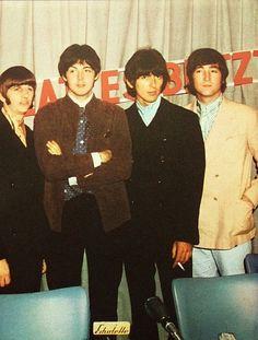 Ringo, Paul, George, John