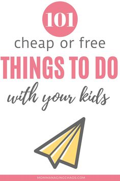 Are your kids bored? Are you looking for things to do with your kids to keep them busy and out of trouble? Check out this post of over 100 things to do when your bored with family. (indoor and outdoor activities) Things to Do When Bored with Kids Indoor Things To Do, 100 Things To Do, Things To Do When Bored, Frugal Living Tips, Frugal Tips, Money Saving Challenge, Money Saving Tips, Bored Kids, Travel Money