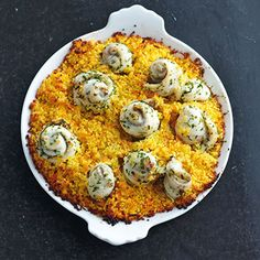 Schollenfilets mit Sahne-Couscous Rezept | Küchengötter
