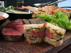 Receta | Sandwich de carne (Steak sandwiches) - canalcocina.es