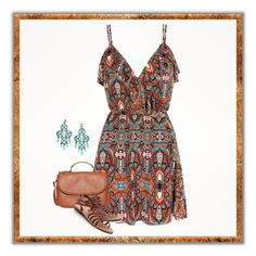 """Print tribal"" by soleuza ❤ liked on Polyvore"