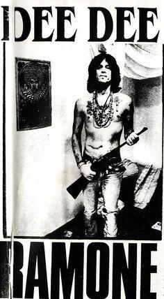 Dee Dee Ramone <3