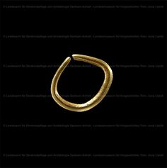 "Landesmuseum für Vorgeschichte Halle - ""Goldring der Glockenbecher-Kultur aus Rothenschirmbach"" [Abgebildet: HK 2005:4174] (museum-digital) Halle, Rings, Gold Rings, Tumblers, History, Germany, Hall, Ring, Jewelry Rings"