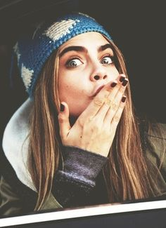 There's something about Cara Delevingne, probably her attitude