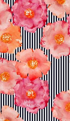 Floral phone wallpap