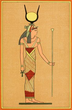 Photo The Gods of the Egyptians 1904 The goddess Isis Print Poster Isis Goddess, Egyptian Goddess, Old Egypt, Ladies Boutique, Poster Prints, Cool Stuff, Egyptians, Image, A4