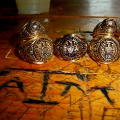 Aggie Rings at the Dixie Chicken