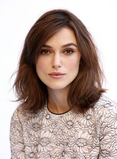 Hair _ Long bob _ Keira Knightly