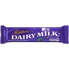 Over 100 years old, I'm a smooth customer full of real milk and Ghanaian cocoa beans. If you're looking for popularity - choose me as I'm a firm favourite with the Brits..I'm rather proud of my Fairtrade status awarded in 2009.