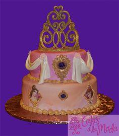 Vivi's 5th birthday cake..maybe.