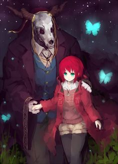 Mahou Tsukai no Yome (The Ancient Magus' Bride) Image - Zerochan Anime Image Board Kawaii, Sailor Moon, Manga Anime, Anime Art, Otaku, Elias Ainsworth, Best Romance Anime, Chise Hatori, The Ancient Magus Bride
