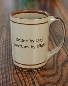 """Bourbon By Night"" Coffee Mug – Bourbon Outfitters"