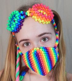 Your place to buy and sell all things handmade Rainbow Loom Patterns, Kandi Patterns, Beading Patterns, Bracelet Patterns, Stitch Patterns, Rave Bracelets, Beaded Bracelets, Necklaces, Rainbow Candy