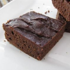 Kahlua(R) Brownies with Peanut Butter Photos - Allrecipes.com  #MyAllrecipes #AllrecipesAllstars #AllrecipesFaceless