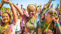 Participate in a colour run.