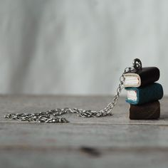 book stack #necklace
