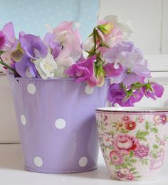 Helen Philipps - sweet peas are my favorite - the fragrance is the aroma of my childhood!
