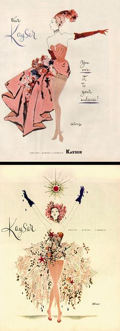 """Kayser Hosiery   Gloves   Lingerie — """"You owe it to your audience!"""""""