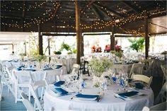paradise cove reception set up