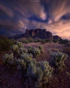 Superstition Mountains, Arizona - Noel Casaje