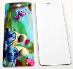 Boekenlegger / Bookmark Smurf 3D for sale at Trendy Goodies. http://www.trendygoodies.nl/Boekenlegger-Smurf-3D