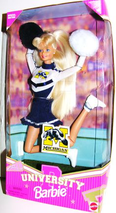 #UMich Barbie! Maddie has this : )