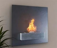 Enjoy a warm fire at home without needing a built in fireplace. These modern wall mounted fireplaces will add character to any home and require no logs to keep the fire going, instead they use a safe and clean burning liquid ethanol as a fuel source.