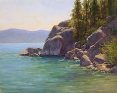 Tahoe Bliss by Kathleen Dunphy Oil ~ 16 x 20