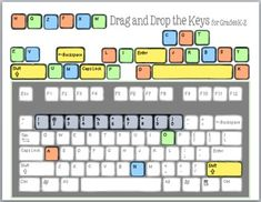 53 Best Keyboarding And Ideas Images Activities Computer Lab