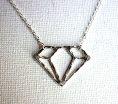 Silver Cutout Necklace Uncovet