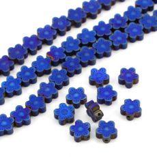 Hematyt kwiatek kobaltowy 8mm [6szt] Stone, Rock, Stones, Batu