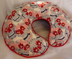 nursing pillow - Dia de los Muertos