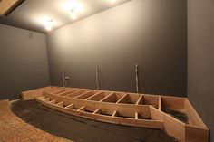 home theater front stage construction - Google Search