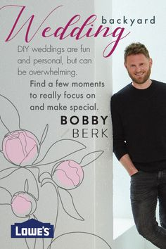 Designer Bobby Berk recommends focusing on a few very personal moments to DIY. This help keeps the focus on those piece you worked so hard on and helps keep the to-do list down.