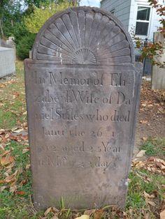 Elizabeth Stiles 1792 Morristown, NJ