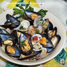 Cozze e vongole alla marinara ricetta Blog Profumi Sapori & Fantasia