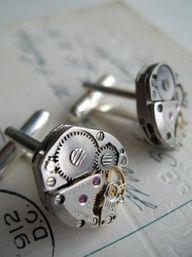 #steampunk #cufflinks #menswear