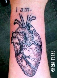 Heart tattoo by Irish tattoo artist Chris Tease Irish Tattoos, Tattoo Portfolio, I Tattoo, Tattoo Artists, Heart