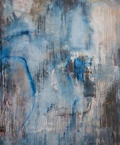 """Saatchi Online Artist Miriam Pace; Painting, """"woman in blue"""" #art  Our new artist!"""