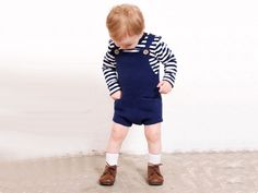 SMART BOYS: The Pocket Playsuit for both girls and boys.