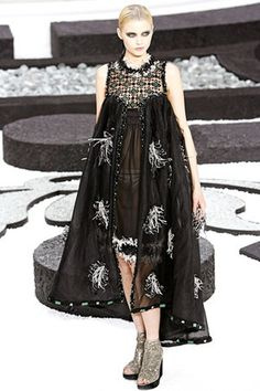 Chanel Jeweled Dress